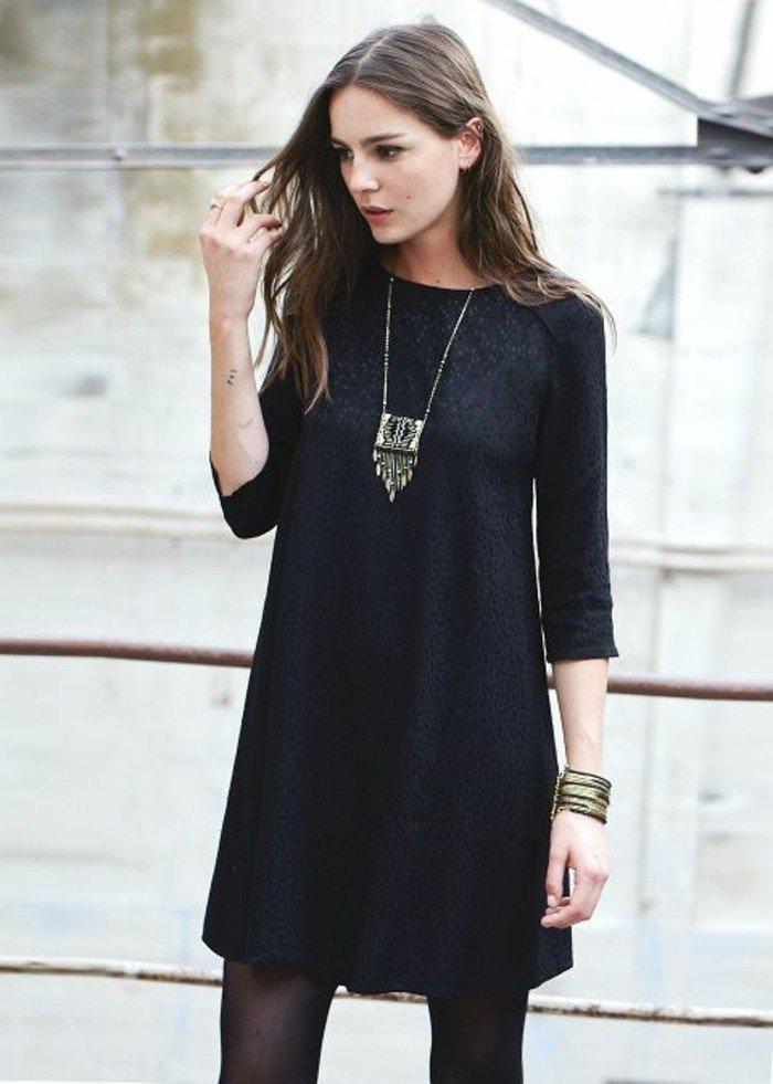 robe-de-soiree-noire-courte-tendance-2017-modele-3