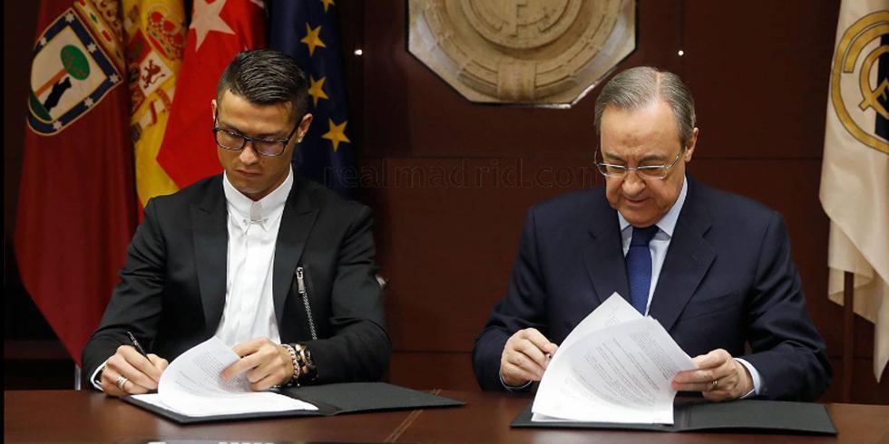 Cristiano Ronaldo, une vie sous contrat