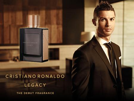 Le nouveau parfum de Cristiano Ronaldo