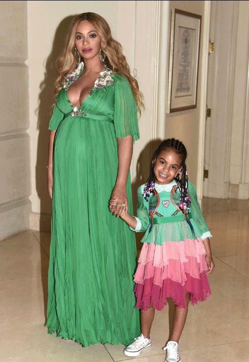 Beyoncé et sa fille