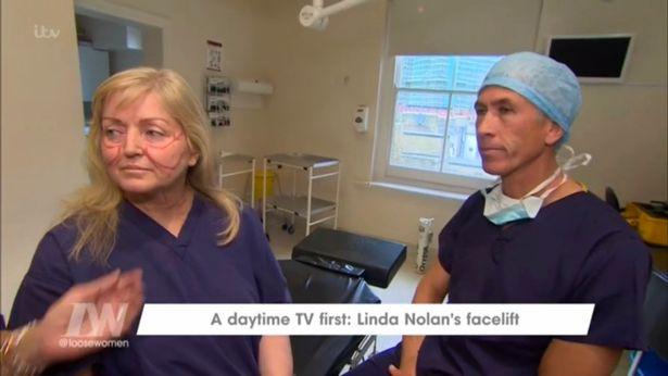 Nouveau : Le lifting cervico-facial de la chanteuse Linda Nolan